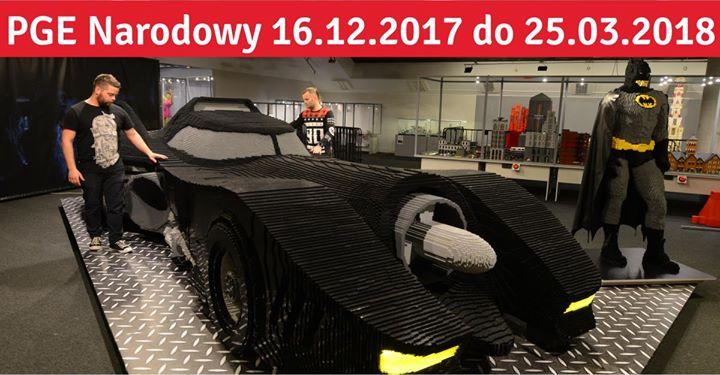 Wystawa budowli z klocków Lego Warszawa